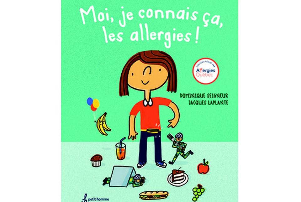 Tout nouveau livre pour enfants : Moi, je connais ça, les allergies!