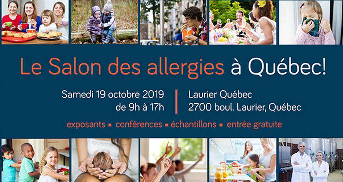 Salon des allergies, édition Québec!