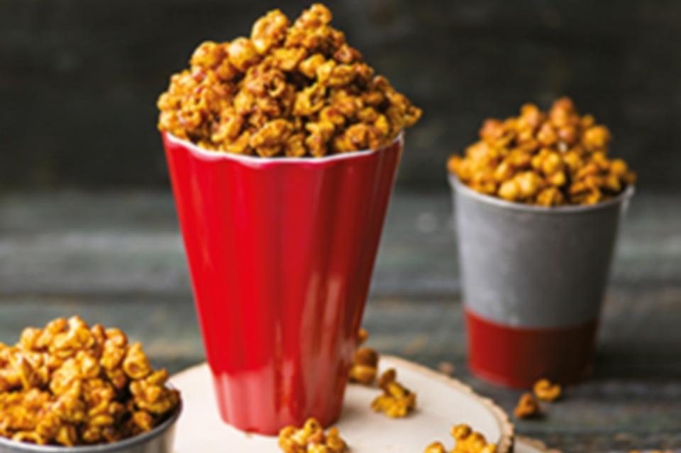 Recette de Popcorn décadent au caramel