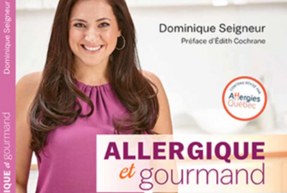 Un livre de recettes, coup de coeur, dédié aux personnes allergiques