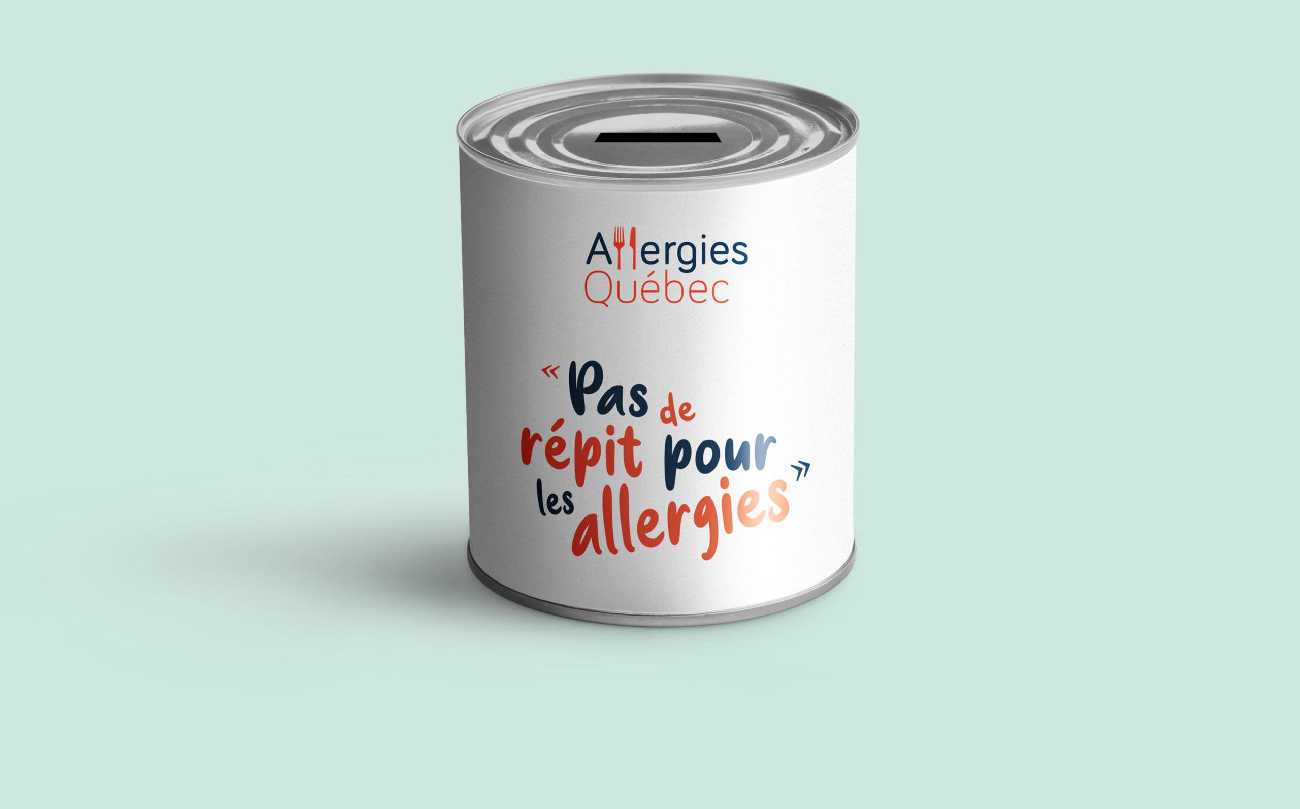 Collecte de fonds au profit d'Allergies Québec