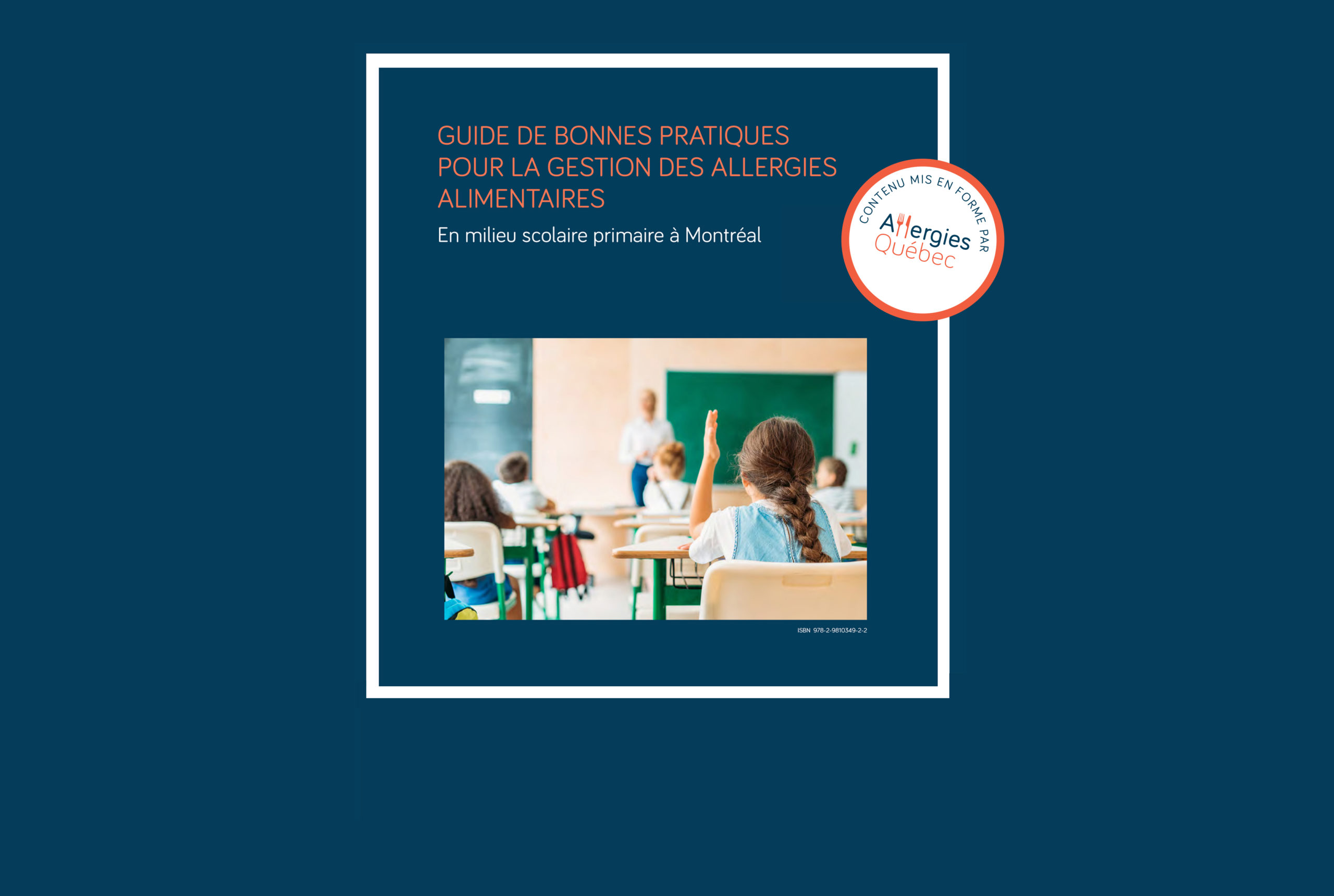 Gestion des allergies alimentaires dans les écoles : diffusion d'un nouveau guide de bonnes pratiques
