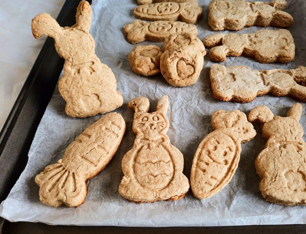 Biscuits sans allergènes et végéntaliensà l'érable