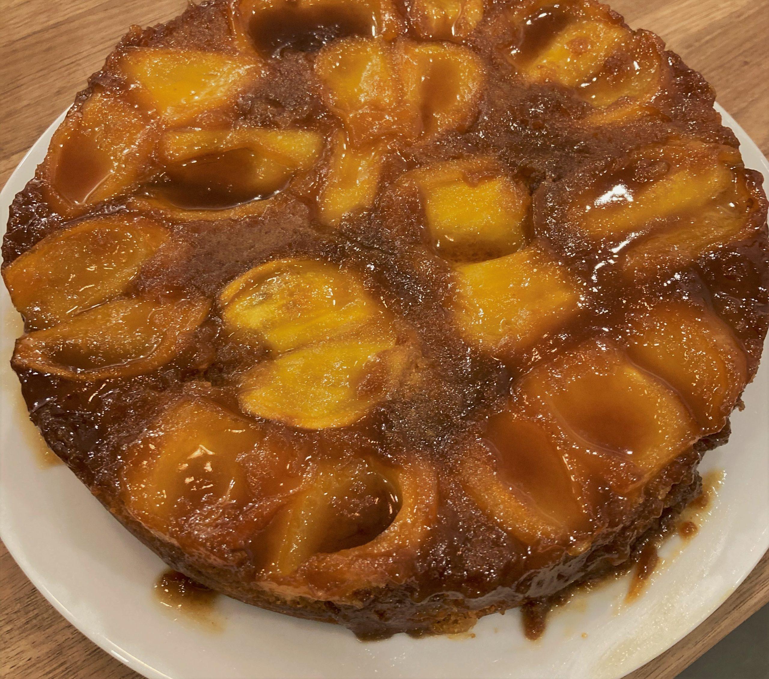 recette de gâteau renversé au fruit du jacquier