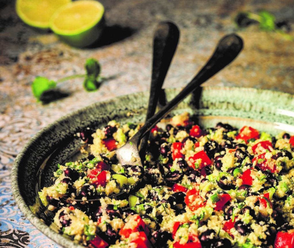 couscous de chou-fleur sans allergènes