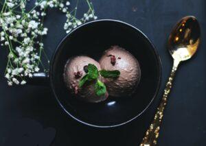 crème glacé d'aquafaba